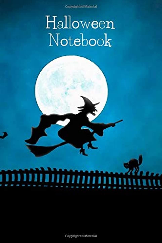 木曜日記憶ミシンHalloween Notebook: Motivational Notebook, Journal, Diary (110 Pages, Blank, 6 x 9)