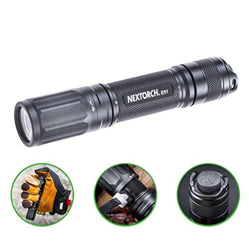 Nextorch-LED-Taschenlampe, sehr hell, 1000 Lumen, taktische wiederaufladbare Taschenlampe für Wandern, Klettern, Jagd, Polizei. Strafverfolgungsbehörden