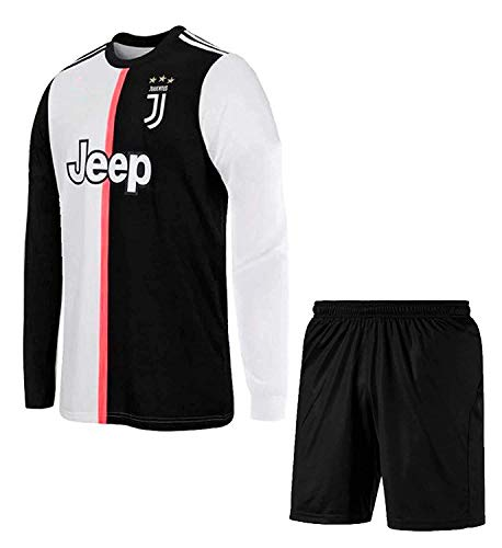 JS - Juventus Full Set Football Jersey 2020 -(Kids and Mens)(S-36)