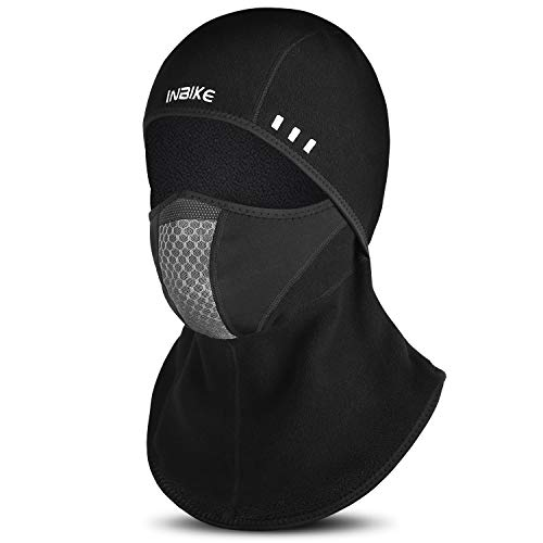 INBIKE Balaclava Ski mask Snow Mask for Men Running Face Mask UpdatedMesh  Polar Fleece 2