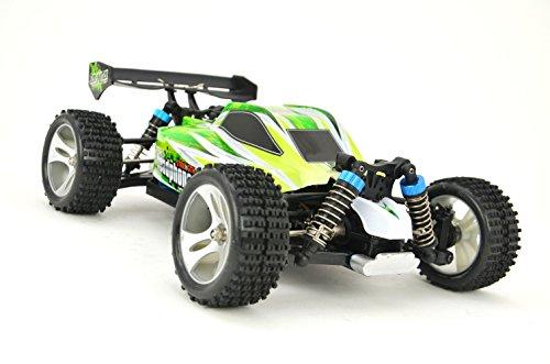 "RC Monstertruck \""WL Toys A959-B\"" 1:18 - 4WD - 60+ km/h schnell mit LiPo + 2,4Ghz"