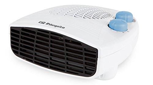 Orbegozo FH 5127 - Calefactor, modo ventilador, calor instantáneo, termostato ajustable, 2 niveles de potencia, 2000 W