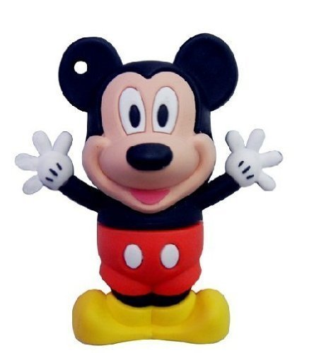 8 GB Mickey Mouse Style USB Flash Drive