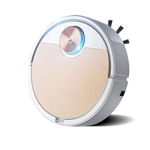 Enemy La aspiradora de robot conectada a Internet, succión ultrafina, grande, silenciosa, puede limpiar los pisos duros en las alfombras de lana media, y pueden controlar las paredes virtuales de la a