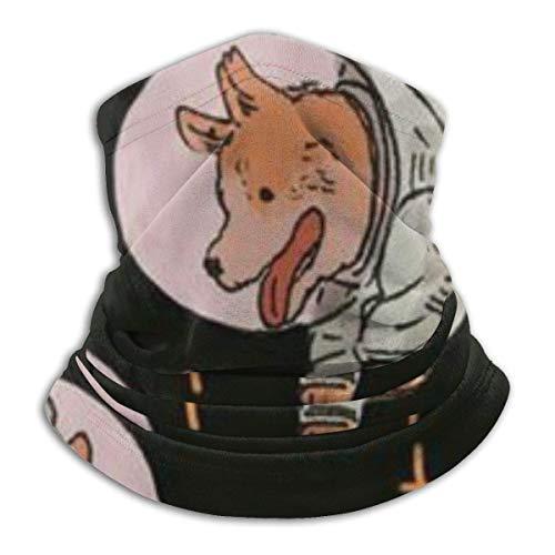 Mathillda astronauten voor honden van molton – omkeerbare nekguckholder multifunctionele oorwarmer