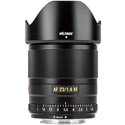 VILTROX 23mm f/1.4 X-Mount Lens Auto Focus F1.4 Large Aperture APS-C Lens for fujifilm X-Mount Camera X-T3 X-H1 X20 T30 X-T20 X-T100 X-Pro2