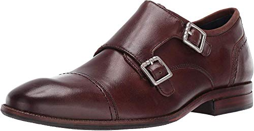 Price comparison product image Cole Haan Men's Wagner Grand Monk-Strap Loafer,  Chestnut,  10.5 M US