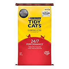 One (1) 40 pounds Bag - Purina Tidy Cats Clumping Cat Litter, 24/7 Performance Multi Cat Litter Use to refill your empty Tidy pails (pail not included) Tight, strong clumps for easy scooping Around-the-clock odor control 99.9% dust-free formula
