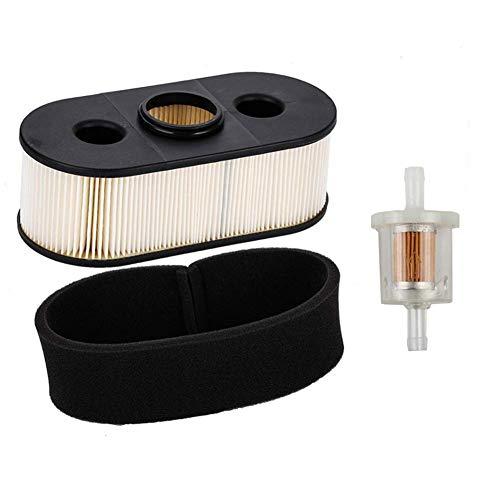 JJDD Vervanging 11013-7031 Luchtfilter met Pre Filter Brandstoffilter voor Kawasaki FH580V FH381V FH430V Grasmaaier 1 Set
