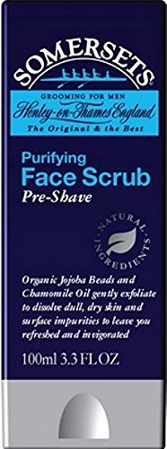 Somersets Purifying Face Scrub Pre-Shave by The David Somerset Skincare Co.