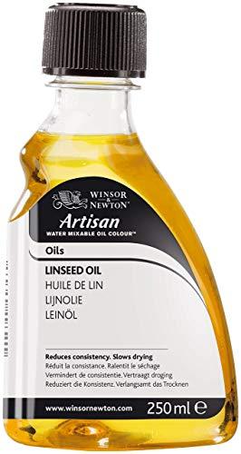 Winsor & Newton 3039723 Artisan Öl - Leinöl für wassermischbare Ölfarben, 250ml Flasche