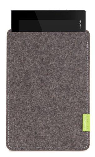 WildTech Sleeve für Sony Xperia Tablet Z4 Hülle Tasche - 17 Farben (Handmade in Germany) - Grau
