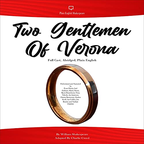 Two Gentlemen of Verona Audiobook By William Shakespeare, Charlie Creed cover art
