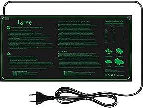 LERWAY 21W Seedling Heat Mat Waterproof Heating Pad 52x25cm for Greenhouse Growing Seed Starter Hydroponics Germination Cl...