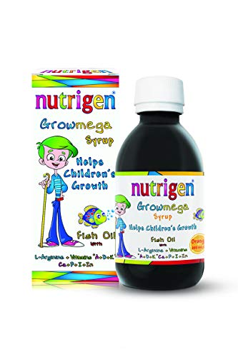 Nutrigen Childrens Growmega Syrup, 200ml