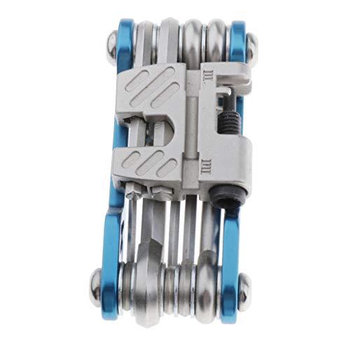 Generic Trousse d'Outils de Vélo,Outils Réparer pour Velo 11 en 1,Bicyclette Réparation Kit Outil Multifonction