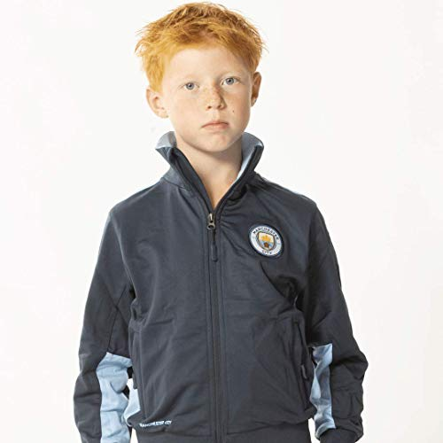 Manchester City trainingspak 19/20-100% polyester - city joggingspak - vest en trainingsbroek - maat 104