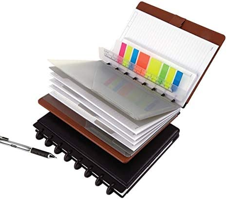 """12 TUL Custom Note-Taking System Discbound Expansion Discs 2/"""" 250 Sheets BLACK"""