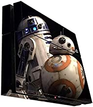 Popular Droid Robots Playstation 4 PS4 Console Vinyl Decal Sticker Skin by Demon Decal