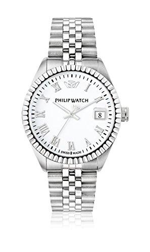 Philip Watch Orologio da uomo, Collezione Caribe, movimento al quarzo, funzione tempo...