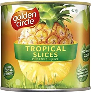 Golden Circle Sliced Tropical Pineapple in Natural Juices 425gm