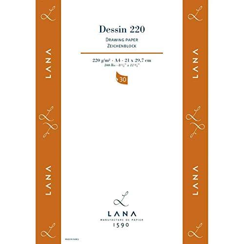 Dessin Block 220g/m², DIN A4, 30Blatt