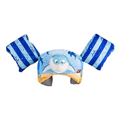 SwimWays Swim Trainer Squirter Life Jacket - USCG Approved - Shark