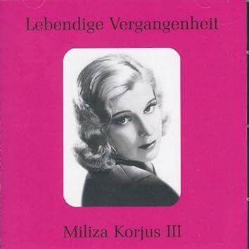 Lebendige Vergangenheit - Miliza Korjus (Vol.3)