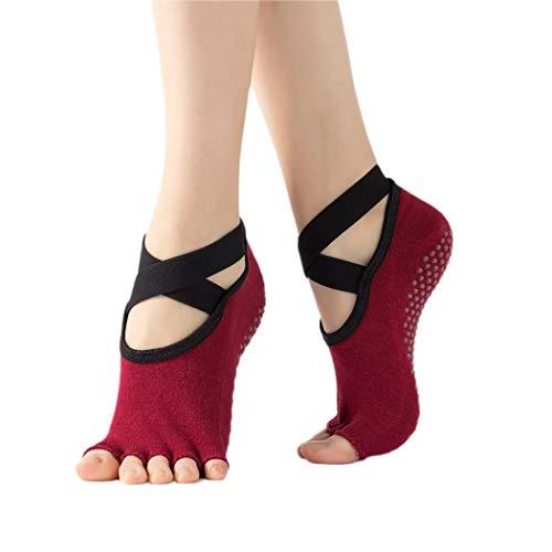 Fascigirl Calcetines De Yoga Para Mujer Calcetines Deportivos Antideslizantes Calcetines Creativos Cálidos Transpirables Para Pilates Calcetines De Entrenamiento