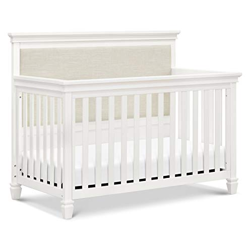 Million Dollar Baby Darlington 4-in-1 Convertible Crib in Warm White, Greenguard Gold Certified