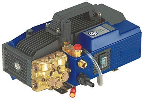 AR Blue Clean, AR630, Heavy Duty Electric Pressure Washer, 1900 Max PSI, 2.1 GPM, Adjustable pressure gauge, Safe for Water up to 140 ̊