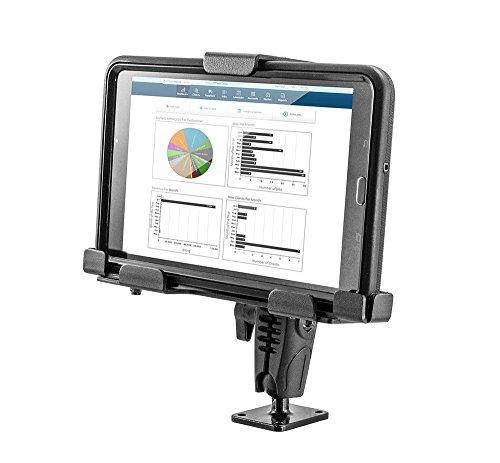 Arkon Locking Aluminum Tablet Mount with Key Lock for E-Log for Galaxy Tab A iPad Models Retail Black