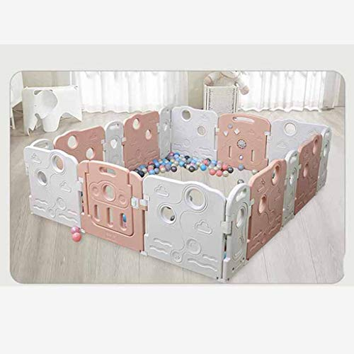 Review Of Hfyg Play Pen Baby Playpen, Kids Activity Center Safe Play Yard with Door Game Panel - (No...