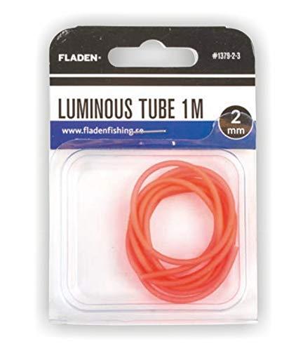 Fladen Luminous Tube, Leuchtschlauch mit Einer Länge von 1m, funf Farben und Durchmesser von 2mm oder 4mm (Rot - 2mm, 1)