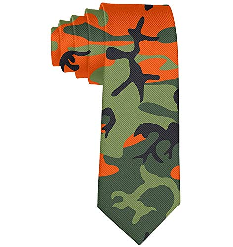 Corbatas para hombres, corbatas de camuflaje Memorial Day para cada atuendo