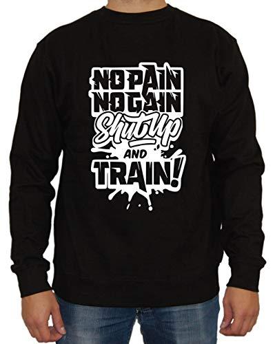 Shut UP Sweater, Farbe: Schwarz, Größe: XL
