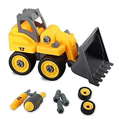 Boys Trucks Building Toys for Kids 3 Years +,Educational Take Apart Toys Set Car for Toddlers Age 3-5 Preschool Learning Birthday Present for Children
