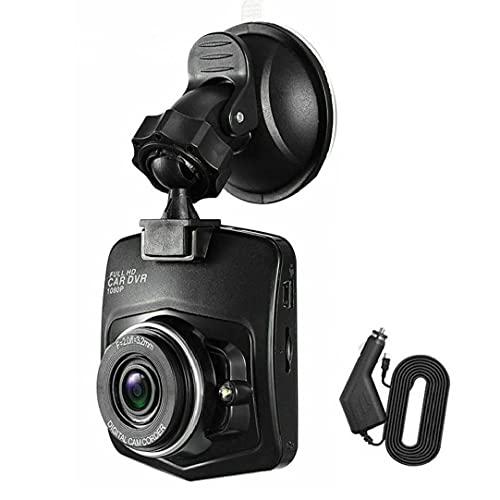 NiceJoy grabadora de conducción de Coches de conducción de vehículo Que Conduce el Registrador Registrador de la cámara DVR de la visión Nocturna del Sensor de G Negro