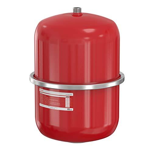 Flamco Flex con vaso de expansión rojo 18 litros 1 bar precarga presión máxima de trabajo 3 bar 26186