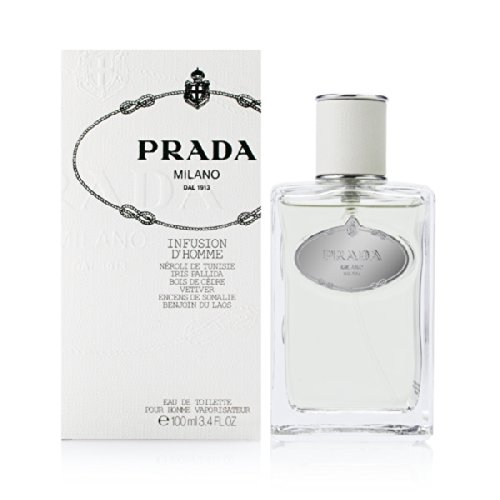 Prada Infusion D'Homme / men, Eau de Toilette, Vaporisateur / Spray 100 ml, 1er Pack (1 x 100 ml)