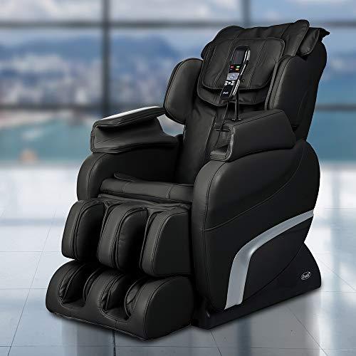 Titan TI7700B Model TI-7700 Massage Chair in Brown, Zero Gravity, 6 Different Massage Types, 5 Pre-Set Programs, Foot & Calf Massage, S-Track Roller System, Outer Shoulder Massage