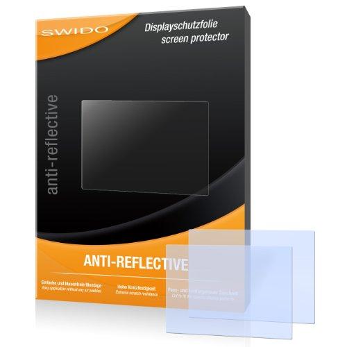 SWIDO X023765 Anti-reflektierende hartbeschichtet Displayschutzfolie für Samsung WB110/WB-110 (2-er Pack)