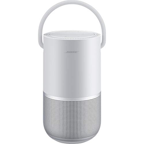 Bose Portable Smart Speaker – mit integrierter Alexa-Sprachsteuerung, in Silber