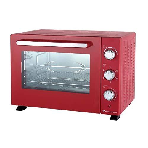 Mini horno CONTINENTAL EDISON MF36R - 36 litros - Rojo