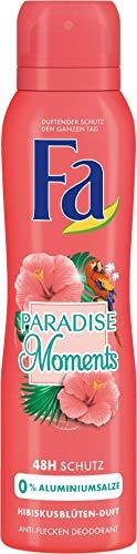 FA Deospray Paradise Moments Hibiskusblüten-Duft, 6er Pack (6 x 150 ml)