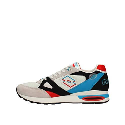 Lotto Herren Schuhe Sneaker SYN-STABI SD 212404-5MK Weiß - 44