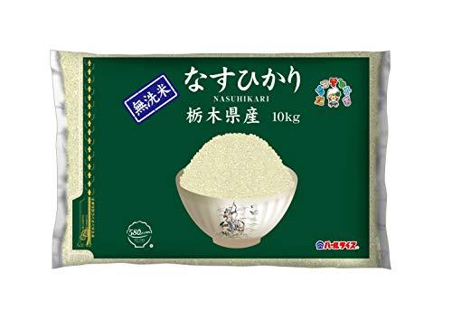 スマートマットライト 【精米】 [Amazon限定ブランド] 580.com 栃木県産 無洗米 なすひかり 10kg 令和2年産