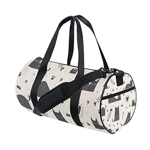 AJINGA Bolsa de viaje para perros con correas de mochila para gimnasio