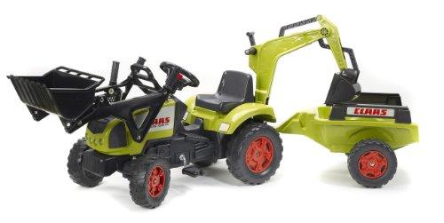Falk - Tractor con Remolque para niños