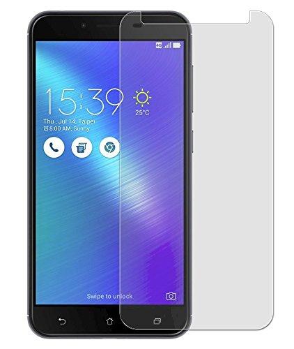 PHONILLICO Verre Trempe ASUS Zenfone 3 Max Plus ZC553KL 5.5' - Film Protection Ecran Verre Trempe Resistant Vitre Ecran Protecteur Anti Rayure sans Bulle d'Air Dureté 9H Ultra Mince Transparent